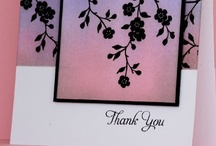 Homemade Cards-Thank you / by Kristin Sauvage-Leindecker