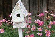 Bird houses,feeders & baths / by Country Girl