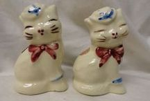 Vintage Shakers-salt-pepper-spices-etc. / by Country Girl