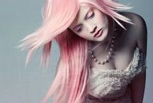 Hair & Wigs / Hair colors, wild styles & awesome wigs! / by Estefanía Ibáñez