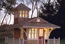 Cottages and Bungalows / #smallhouses #cottages #bungalows #houseplans  / by Houseplans LLC