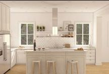 The Kitchen / If your going to build your dream home, you have to have your dream kitchen!!! / by Houseplans LLC