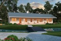 Simple & Affordable Houses / by Houseplans LLC