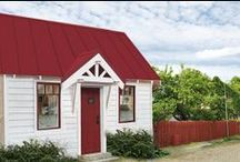 Micro Cottages / Efficient, low-impact micro houses.  Live small. / by Houseplans LLC