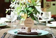 Thanksgiving at Home / #houseplans #thanksgiving #holiday #homedecor #falldecor #holidayseason #table  / by Houseplans LLC