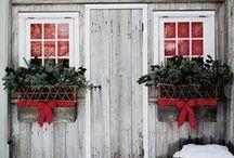 Christmas House / #christmas #holidays #homedecor #holidaydecor #homefortheholidays / by Houseplans LLC