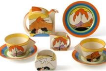 Clarice Cliff / Some of my favourite designs - I love the bold and striking designs and colours. / by Catherine McPhie