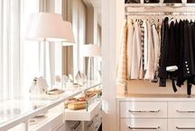 Closets & dressingrooms / by Hanna
