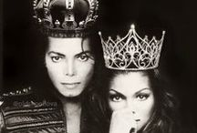 michael and janet jackson / by sue Orosz