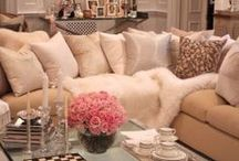 Fur Accents / Add a touch of cozy to any space with fur. / by H5 Decor