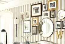 Wonder Walls  / Enhance your space and decor with a gallery wall. Different ways to hang pictures on the wall. / by H5 Decor