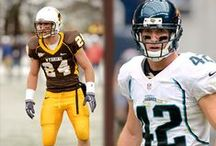 Cowboys in the Pros / Former Cowboy and Cowgirl Athletes representing the Pokes in professional leagues.  / by Wyoming Cowboys