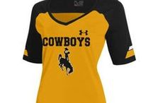 Brown & Gold Outlet / Brown and Gold are always the best combination! Official Wyoming Cowboy Merchandise can be bought at your local Brown & Gold Store  http://bit.ly/1jrcPNh / by Wyoming Cowboys