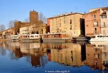 La Cité d'Agde / Département de l'Hérault - Région Languedoc-Roussillon - Méditerranée - France / by Ville d'Agde