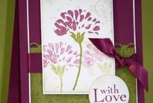 Cards - Flowers / Cards With Flowers As The Focal Point / by Heather