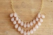 Jewelry & Beading - Necklaces / Handmade necklaces  / by Heather