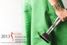 #CFDAawards / The 2013 CFDA Awards are approaching. We're pinning the highlights from this year's nominees.  / by Style.com