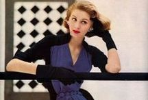 Iconic Models in Vintage Fashions /   / by Pearl Pea