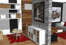 Déco de rêve - Dream Home / Inspirations pour décorer l'intérieur de ma maison - Decor Home - Interior / by Jessica Lavoie