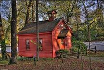 Old School Houses / by Ruth Hill