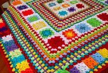 CROCHET-GRANNY  / granny motifs, patterns, edges, tutorials, ideas, etc. / by Susan Bertucci
