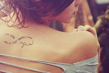 Tattoos / by Caroline Passal