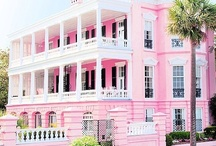 pink♡houses / by Laurie ♡ Noble (pink♡glitter♡doll)  =^-^=