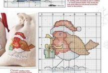 Christmas Cross Stitch / by Jennifer Stewart