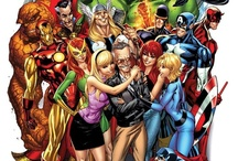 BD Marvel comics / by Francois Paradis