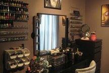 Beauty Storage & Stations / by Stephanie Raines