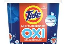 Now You Can Tide That / With 225 uses and counting, Tide Oxi can help you keep every room from the kitchen to the bathroom clean.  / by Tide Laundry Detergent