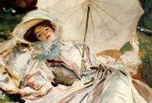 Elegant Ladies of the Past / by Berthe Morisot