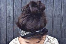 Cute Hairstyles / by Elizabeth Victoria