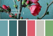 Decor inspiration/Color Palettes / by Arielle White-Bagwell