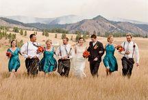 Dream wedding! / Teal & black wedding!  / by Bailey Brookens✨