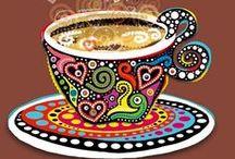 Tazas!!! / Tea, Coffee & Hot Chocolate, Te  yCafe / by Mercy Me