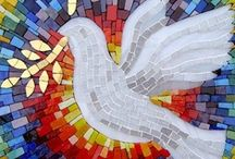 Mosaics, Stained Glass / by Veronica Wylie