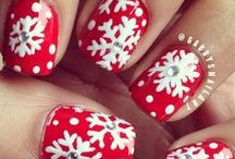 ~Christmas Nails~ / by Lady Planeswalker