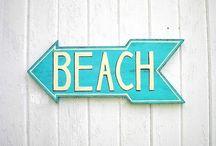 Beachy keen ⚓️ / Sandy feet and waves  / by Jenny O'Daniel
