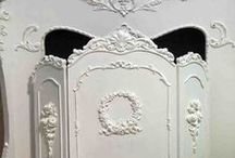 A 1/12 scale Miniature French room box Ideas / by Lu Byard