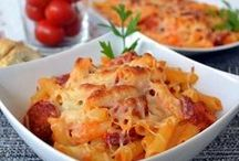 Pasta recipes / Take a look to the authentic Mediterranean pasta recipes / by Spanish Food Recipes