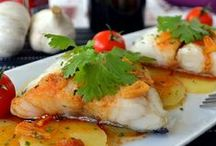 Fish and Seafood / Spanish cuisine is well known for fish and seafood recipes variety! Check them out! / by Spanish Food Recipes