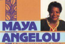 Adult Display - In Memoriam - Maya Angelou / by Grafton Public Library