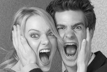 Emma Stone & Andrew Garfield / Emma Stone Andrew Garfield / by Fernanda Barreto