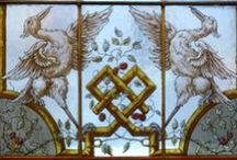 ♔ -  Antique Stained Glass  / by Solange Spilimbergo Volpe
