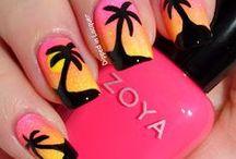 Summer nail art / by Rachel Stewart