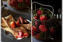 Berry, berry heaven ~ My Favorite ♥.¸¸.•´¯`»✿◕ / Various berry recipes and photos .... yummy!!!! / by * ༺♥༻ * Rachunzel * ༺♥༻ *