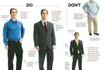 Professional Wear for Men / First impressions matter. Make sure potential employers know how confident you really are by putting on some of these professional looks. / by SSU Career Services