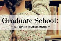 Graduate School / Need the specialization in your field that only comes from graduate programs? No problem. Here are some ways to help you get into the school of your dreams. / by SSU Career Services