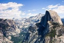 ✈ Yosemite [National Parks] / One of the most beautiful Parks in North America. / by ✈ The Last Footprint  ✈ Travel and Photography ✈
